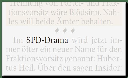 SPD-Drama