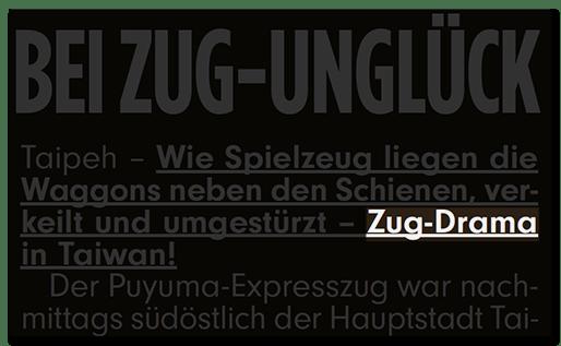 Zug-Drama