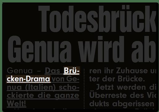 Brücken-Drama
