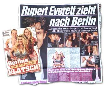 """""""Rupert Everett zieht nach Berlin"""""""