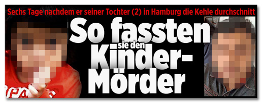 Screenshot Bild.de - So fassten sie den Kinder-Mörder