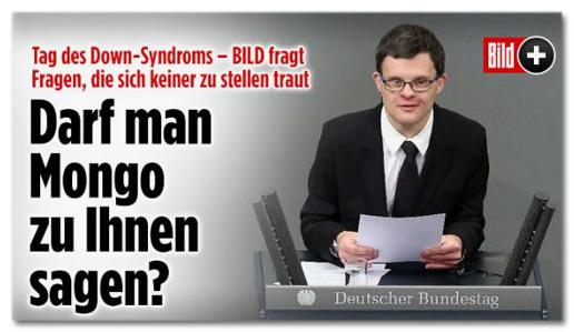 Tag des Down-Syndroms - BILD fragt Fragen, die sich keiner zu stellen traut - Darf man Mongo zu Ihnen sagen?
