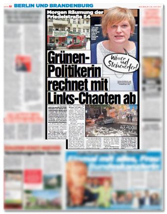 Wixxer und Steinewerfer! - Grünen-Politikerin rechnet mit Links-Chaoten ab