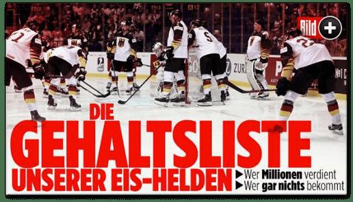 Screenshot Bild.de - Die Gehaltsliste unserer Eis-Helden - Wer Millionen verdient - Wer gar nichts bekommt