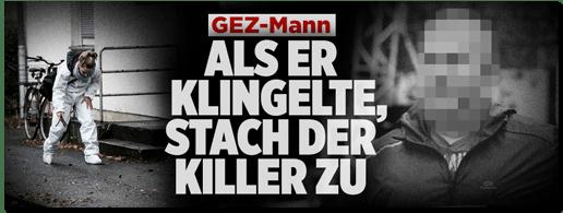 Screenshot Bild.de - GEZ-Mann - Als er klingelte, stach der Killer zu