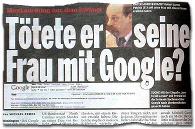 Mordanleitung aus dem Internet - Tötete er seine Frau mit Google?