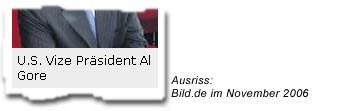 """U.S. Vize Präsident Al Gore"""