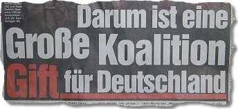 Darum ist eine Große Koalition Gift für Deutschland