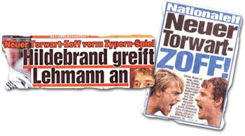 """""""Neuer Torwart-Zoff vorm Zypern-Spiel: Hildebrand greift Lehmann an"""""""