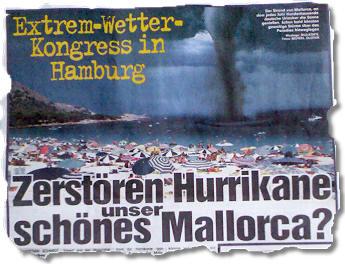 Extrem-Wetter-Kongress in Hamburg. Zerstören Hurrikane unser schönes Mallorca?