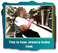"""This is how Jessica looks now."""