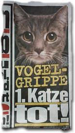 """""""Vogelgrippe - 1. Katze tot!"""""""