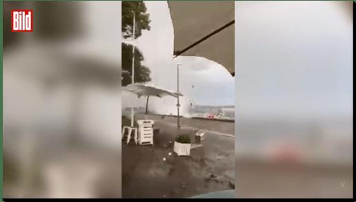 Screenshot Bild.de - Videoaufnahme aus Kiel ohne Quellenangabe