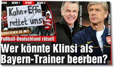 Wer könnte Klinsi als Trainer beerben?