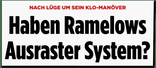 Screenshot Bild.de - Nach Lüge um sein Klo-Manöver - Haben Ramelows Ausraster System?