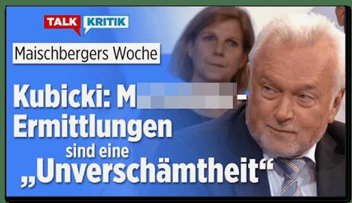 """Screenshot BILD.de: Kubicki: [M.]-Ermittlungen sind eine """"Unverschämtheit"""""""