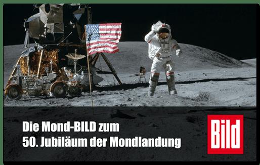 Die Mond-BILD zum 50. Jubiläum der Mondlandung