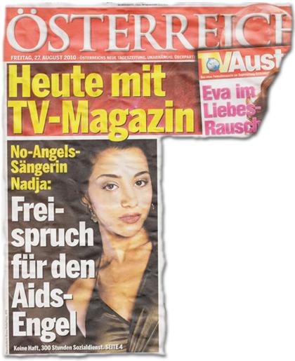 No-Angels-Sängerin Nadja: Freispruch für den Aids-Engel