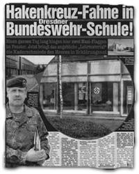 """""""Hakenkreuz-Fahne in Dresdner Bundeswehrschule!"""""""