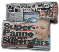 Stand Didis Rausschmiß schon vorher fest? / Super-Panne bei den Superstars