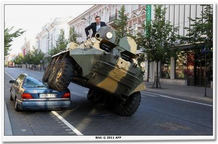 Fotomontage, von AFP verbreitet.