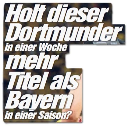 BVB-Bubi Passlack will sein persönliches Double holen - Holt dieser Dortmunder in einer Woche mehr Titel als Bayern in einer Saison?