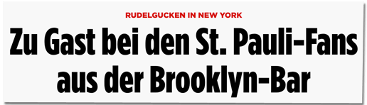 Screenshot Bild.de - Rudelgucken in New York - Zu Gast bei den St. Pauli-Fans aus der Brooklyn-Bar