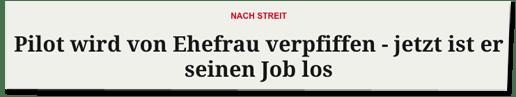 Screenshot Merkur.de - Nach Streit - Pilot wird von Ehefrau verpfiffen - jetzt ist er seinen Job los
