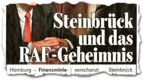 """""""Steinbrück und das RAF-Geheimnis"""""""