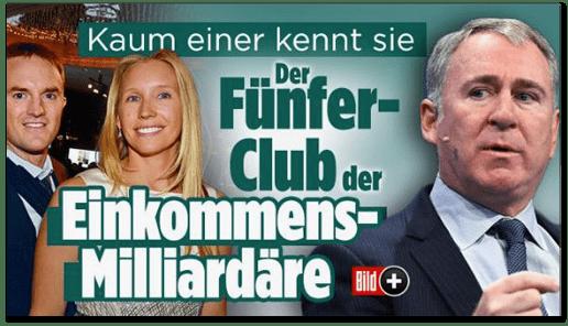 Screenshot Bild.de - Kaum einer kennt sie - Der Fünfer-Club der Einkommens-Milliardäre