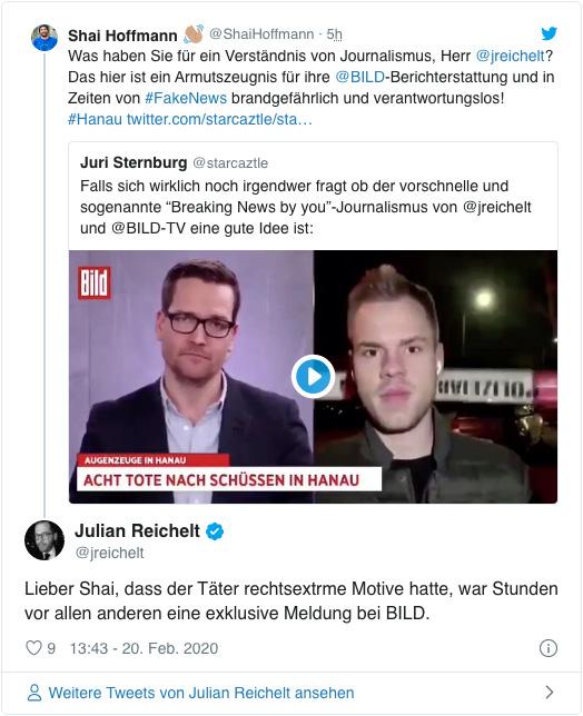 """Reichelt und Ronzheimer: """"Bild"""" hat auch was richtig gemacht"""