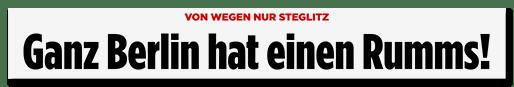 Schlagzeile: Ganz Berlin hat einen Rumms!