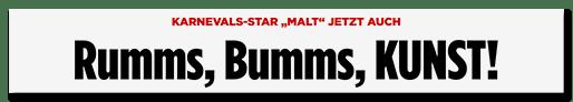 Schlagzeile: Rumms, Bumms, KUNST!