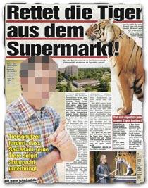 """""""Rettet die Tiger aus dem Supermarkt"""""""