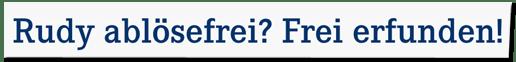 Screenshot einer Meldung des FC Schalke 04 - Rudy ablösefrei? Frei erfunden!