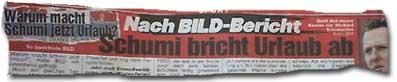 Nach BILD-Bericht: Schumi bricht Urlaub ab