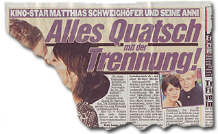 """""""Matthias Schweighöfer und seine Anni: Alles Quatsch mit der Trennung!"""""""