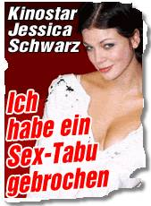 Jessica Schwarz: Ich habe ein Sex-Tabu gebrochen
