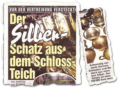 """""""Der Silber-Schatz aus dem Schloss-Teich"""""""
