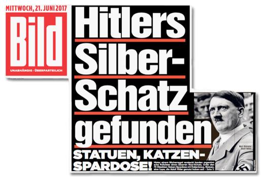 Hitlers Silberschatz gefunden