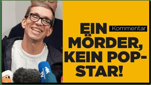Screenshot Bild.de - Ein Mörder, kein Pop-Star!