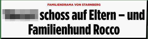 Screenshot Bild.de - Familiendrama in Starnberg - ... schoss auf Eltern und auf Familienhund Rocco