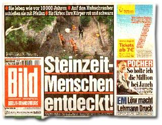 """""""Steinzeit-Menschen entdeckt!"""""""