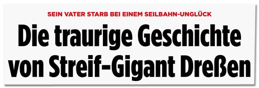 Screenshot Bild.de - Sein Vater starb bei einem Seilbahn-Unglück - Die traurige Geschichte von Streif-Gigant Dreßen