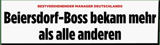 Screenshot Bild.de - Bestverdienender Manager Deutschland - Beiersdorf-Boss bekam mehr als alle anderen