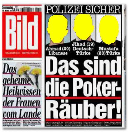 Das sind die Poker-Räuber