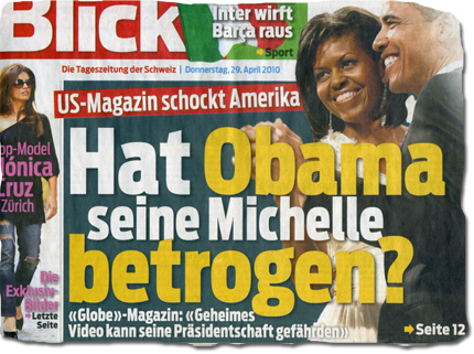 Hat Obama seine Michelle betrogen?