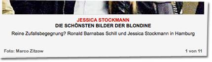 Reine Zufallsbegegnung? Ronald Barnabas Schill und Jessica Stockmann in Hamburg