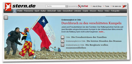 Screenshot: Stern.de