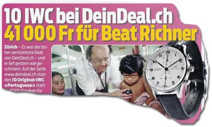 10 IWC bei DeinDeal.ch